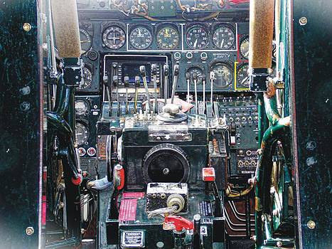 Joe Duket - B-24 Liberator Cockpit