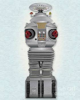 B9 Robot-Lost in Space by Michael Lovell