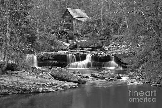Adam Jewell - Babcock State Park Black And White