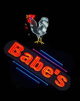 Neon Sign-Babe's Chicken by Matthew Miller