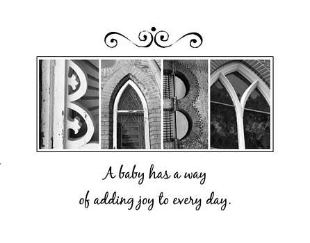 Kathy Stanczak - Baby Alphabet Art
