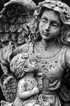 Baby Angel Statue II by Off The Beaten Path Photography - Andrew Alexander