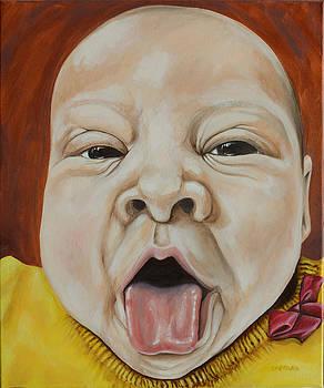 Baby Birdie by Dawn Pfeufer