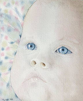 Baby has been crying by Marisa Gabetta