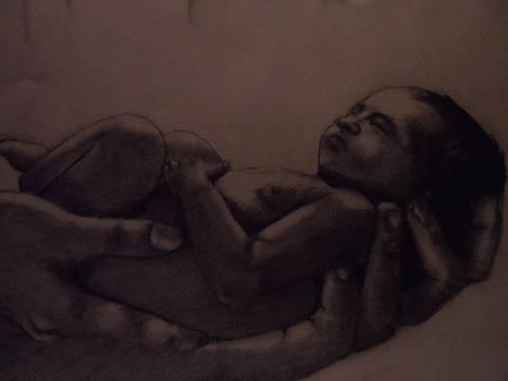 Baby In Hands by Paul  Gemmell
