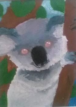 Baby Koala Bear by Kendya Battle