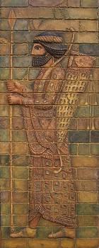 Babylonian Archer II.  by Jose Manuel Solares