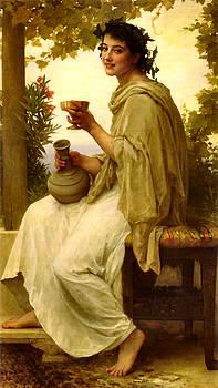 Bacchante by William Adlophe Bouguereau