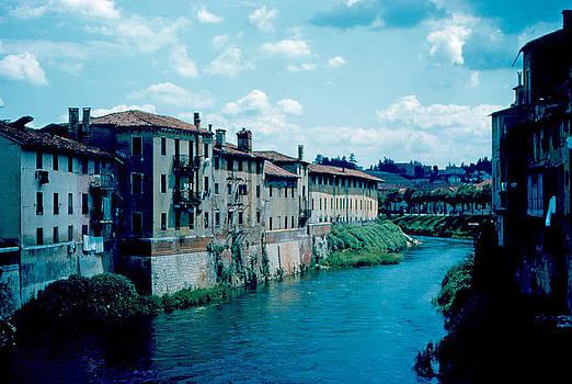 Bacchiglione in Vicenza 1962 by Cumberland Warden