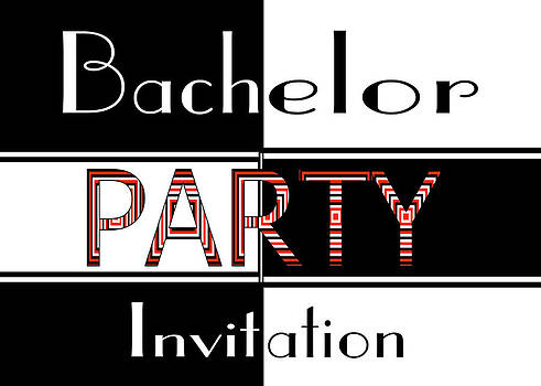 Donna Proctor - Bachelor Party Invite