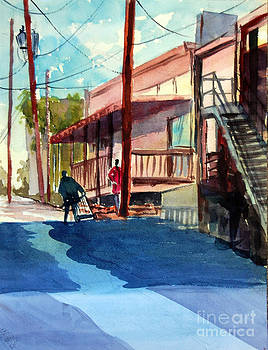 Back Alley by Ron Stephens