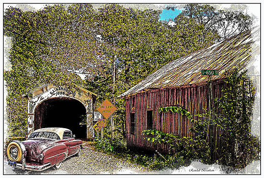 Randall Branham - BACK IN TIME  old cars old barns old bridges