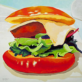 Back Porch Burger by Amy McKay