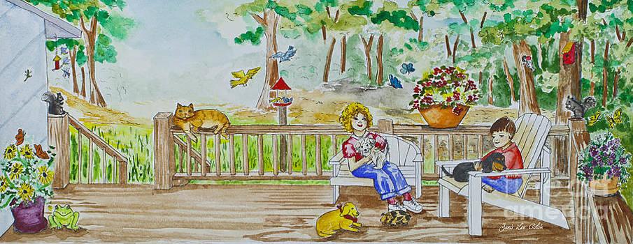 Back Porch by Janis Lee Colon