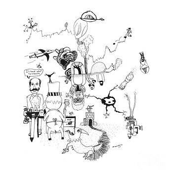 Michael Mooney - Back Rooms of My Mind Door 201212