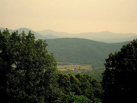 Back to the Blue Ridge  by Johanna Elik