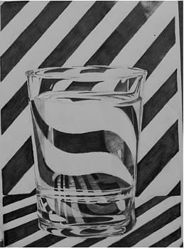 Background reflection on glass by Sri venkat- Spread Happiness