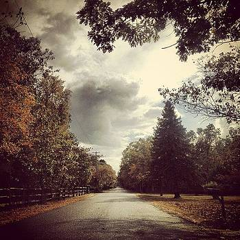 #backroads #fall_leaves #clouds #rain by A Loving