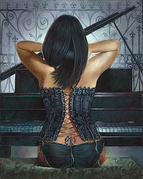 Backsided Melody  by Geraldine Arata