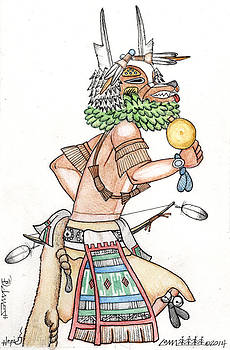 Badger Kachina by Dalton James
