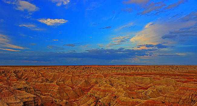 Badlands 11 by Jim Boardman