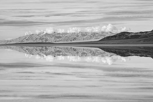 Badwater Reflection by Tuan Le