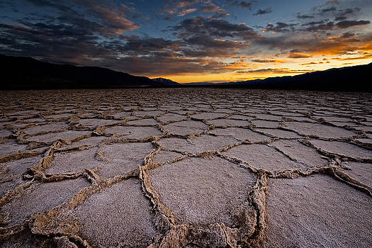 Badwater Sunset by Brian Bonham