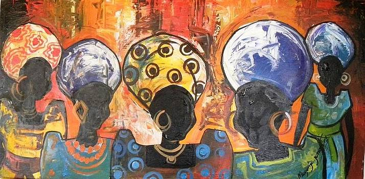 Baganda Women by Muyonjo