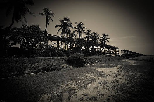 ROBERT KLEMM - BAHIA HONDA KEY  RAILROAD  BRIDGE