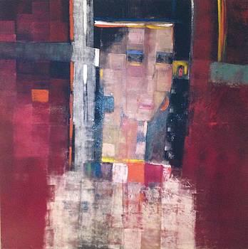 Sold/Bahja a Palestinian Bride  by Farid  Fakhriddin 147x147 cm