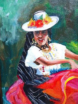 Baile de Michoacan by Luz Perez