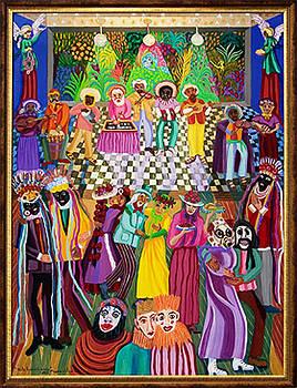 Baile En Mascarado  by Maria Alquilar