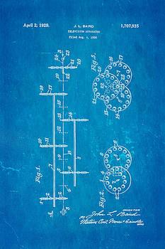 Ian Monk - Baird Television Apparatus Patent Art 1929 Blueprint