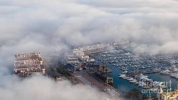 Bajo la niebla by Eugenio Moya