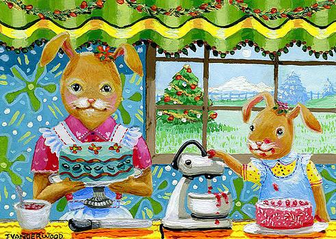 Baking Holiday Goodies by Jacquelin Vanderwood
