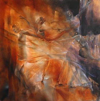 Balance - four dancers by Annette Schmucker