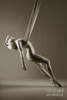 Balance in ballet shoes by John Tisbury