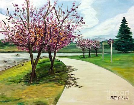 Balboa Park Cherry Trees by Madeleine Prochazka