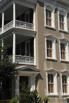 Balcony and Windows by Diane Greco-Lesser