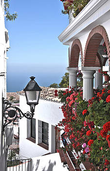 Balcony in Spain by Sonia Conforti