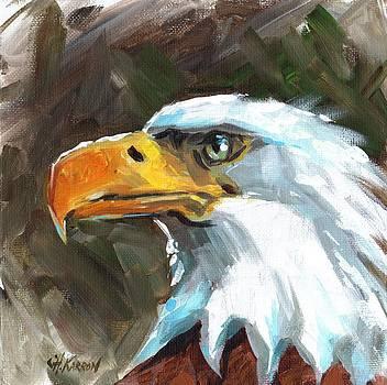 Bald Eagle by Christine Karron