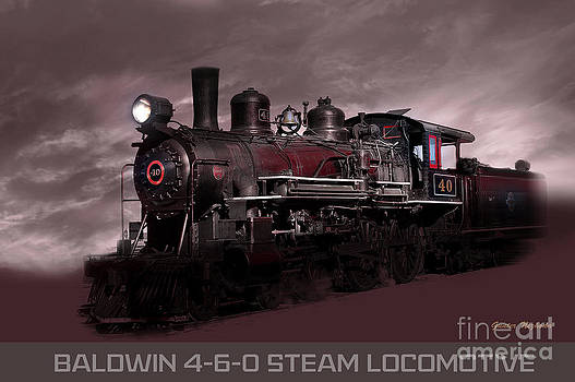 Gunter Nezhoda - Baldwin 4-6-0 Steam Locomotive