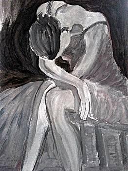 Balerina obosita by Farfallina Art -Gabriela Dinca-