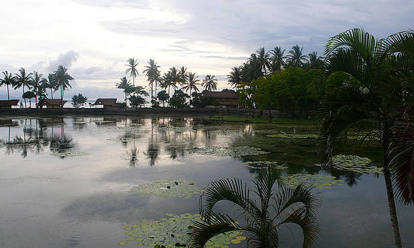 Bali reflections in the Bay by Jack Adams