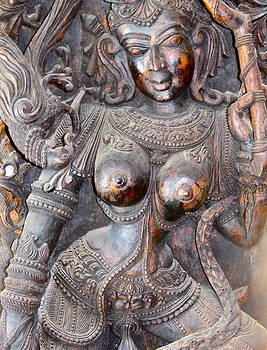 Bali Wood Carving by Paul Schoenig