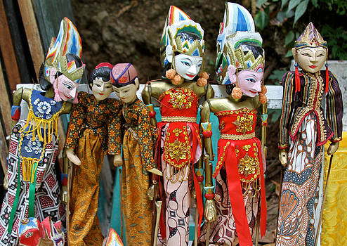 Venetia Featherstone-Witty - Balinese Puppets