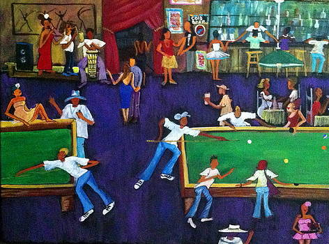 Bali's Pool Hall by Lydia Matias