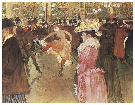 Henri De Toulouse-Lautrec - Ball at the Moulin Rouge
