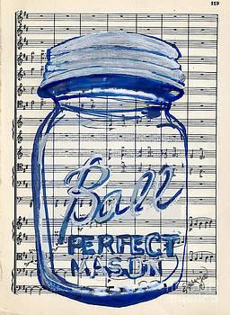 Ball Jar Classical #119 by Ecinja Art Works