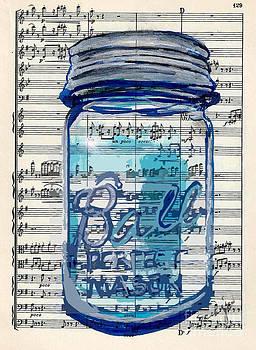 Ball Jar Classical  #129 by Ecinja Art Works
